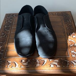 Eileen Fisher  Black Suede Shoes